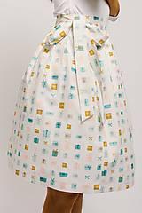 Sukne - Zavinovací sukně Narozeninová - 9206572_