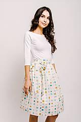 Sukne - Zavinovací sukně Narozeninová - 9206574_