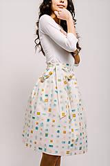 Sukne - Zavinovací sukně Narozeninová - 9206575_