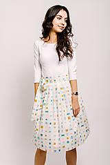 Sukne - Zavinovací sukně Narozeninová - 9206576_