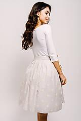 Sukne - Zavinovací sukně Labutí Jezero - 9206715_