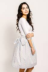 Sukne - Zavinovací sukně Čaj o páté - 9206724_