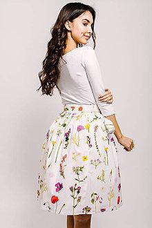 Sukne - Zavinovací sukně Petal Picking Dense - 9206390_