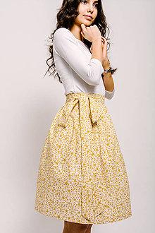Sukne - Zavinovací sukně Se zlatou hvězdou - 9206589_