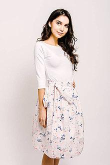 Sukne - Zavinovací sukně Něžná kvítka - 9206629_