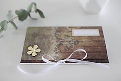Papiernictvo - Scrapbook obálka na peniaze - 9208485_