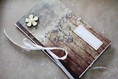 Papiernictvo - Scrapbook obálka na peniaze - 9208486_