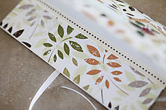 Papiernictvo - Scrapbook obálka na peniaze NATUR - 9208521_