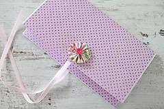 Papiernictvo - Scrapbook obálka na peniaze - ružová - 9208547_