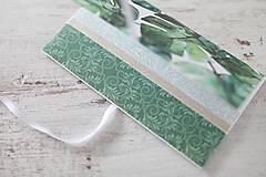 Papiernictvo - Scrapbook obálka na peniaze - 9208566_