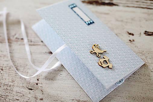 Scrapbook obálka na peniaze - krst, narodeniny