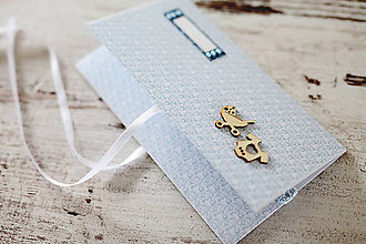 Papiernictvo - Scrapbook obálka na peniaze - krst, narodeniny - 9208502_