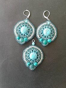 Sady šperkov - sada Tyrkys 2 - 9207490_