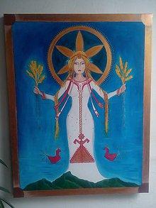 Obrazy - Bohyňa Makoš - 9207624_