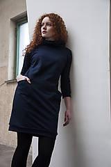 Šaty - Šaty Pocket Navy - 9206173_