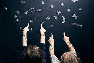 Nezaradené - Dočasné tetovačky - Vesmírne (26) - 9206060_