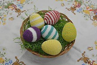 Dekorácie - Veľkonočné vajíčka - 9206995_