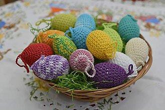 Dekorácie - Veľkonočné vajíčka - 9207025_
