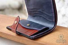 - Kožená peňaženka aj na veľké doklady - 9209168_