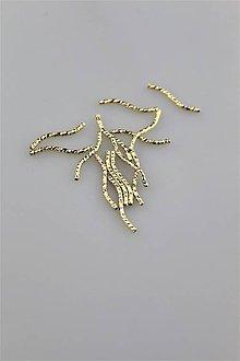 Komponenty - trubička zlatá 1,5x20mm - 9207627_
