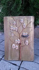 """Obrazy - Drevený obraz - """"Vtáčí strom"""" - 9206533_"""