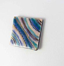 Odznaky/Brošne - Tana šperky - keramika/zlato - 9206035_
