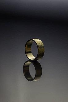 Prstene - Zlatá obrúčka s textúrou - 9210190_