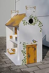 Hračky - domček pre bábiky okrový - 9205922_