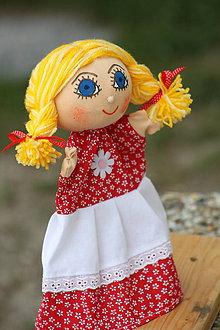 Hračky - Maňuška. Bábika dievčatko Marienka - 9206222_