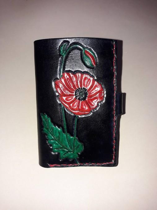 Malá kožená peňaženka Vlčí mak