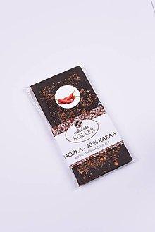 Potraviny - Horká čokoláda s CHILLI - 9206319_