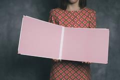 Papiernictvo - Fotoalbum klasický, polyetylénový obal s potlačou teplovzdušného balóna s nápisom, či bez (4 foto na stranu) - 9205936_