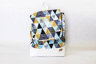 Batohy - Batoh-trojuholníčky - 9206955_