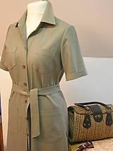 Šaty - Safari šaty pre pohodu ;) - 9210308_