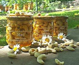Potraviny - Med a kešu ořechy - 9209724_