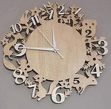 Hodiny - Drevené hodiny 1 - 9209495_