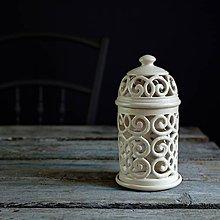 Svietidlá a sviečky - Aromalampa Ecru - 9210360_