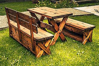 Nábytok - Záhradné sedenie - 9205770_