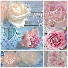 Papier - ruže - 9207256_