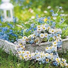 Papier - srdce z kvetov - 9207440_