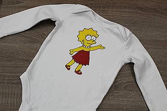 Detské oblečenie - Maľované body Lisa - 9211944_