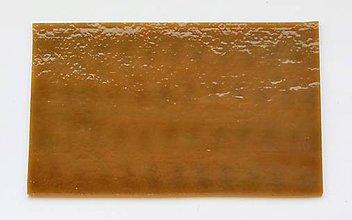 Suroviny - Sklo svetlo hnedé, opálové, zn. Bullseye - 9212704_
