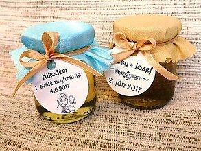 Darčeky pre svadobčanov - MINImedík (medík s visačkou) - 9211838_