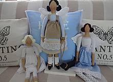 Bábiky - Biely madeirový anjel - 9211276_