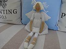 - Biely madeirový anjel - 9211280_