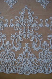 Textil - Svadobná krajka - 9214728_
