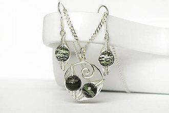 Sady šperkov - clariskový set so švajc. opálom Ag - 9211852  becf340c03b