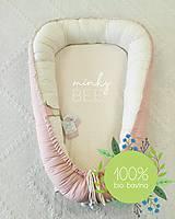 Textil - Luxusné hniezdo pre novorodenca z BIO bavlny - 9212023_