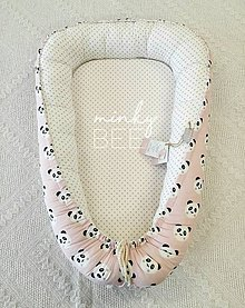 Textil - Hniezdo pre novorodenca - 9211877_