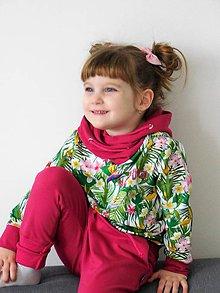 Detské oblečenie - Mikina exotica mini - 9214225_